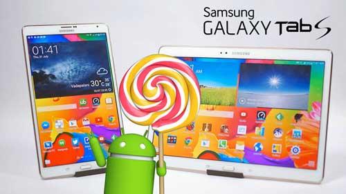 سامسونج تطلق تحديث الأندرويد المصاصة للجهاز Galaxy Tab S 8.4