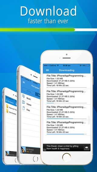 مجموعة تطبيقات: تنزيل الملفات، مدير ملفات، ومحول ملفات PDF وخدمة سحابية