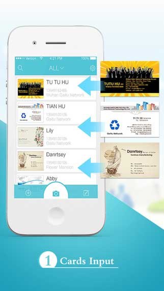 تطبيق Foxcard pro لتحويل بطاقات العمل إلى جهات اتصال