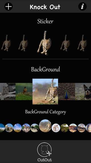 تطبيق KnockOut لقص وتحرير الصور ومزايا كثيرة