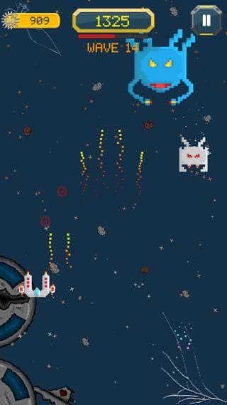 لعبة U The Space Fighter