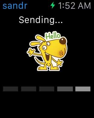 تطبيق 8 للدردشة بالملصقات الرائعة مع دعم ساعة آبل الذكية