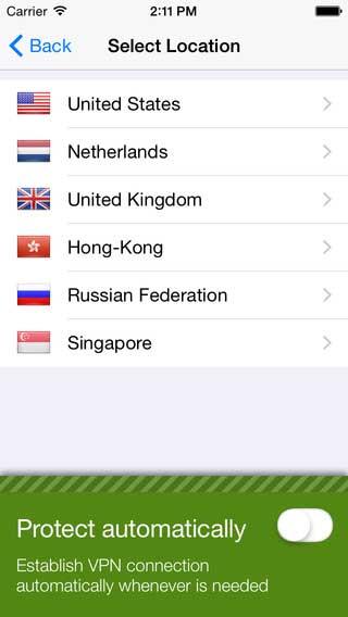 تطبيق VPN Seed4.Me لحمايتك والدخول للمواقع المحجوبة