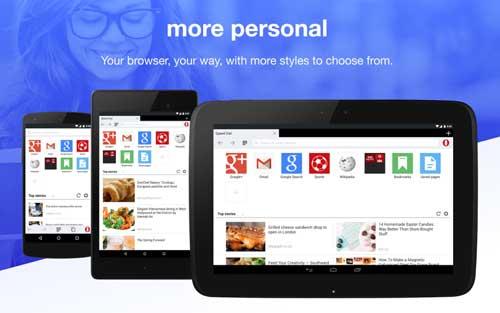 تطبيق Opera Mini متصفح ذكي بتحديث جديد للاندرويد