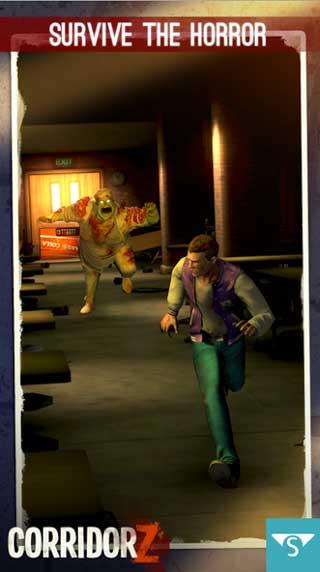لعبة Corridor Z عليك الهروب من الزومبي للاندرويد