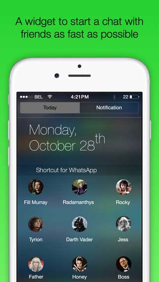 تطبيق Shortcut for WhatsApp Plus اختصارات واتس آب