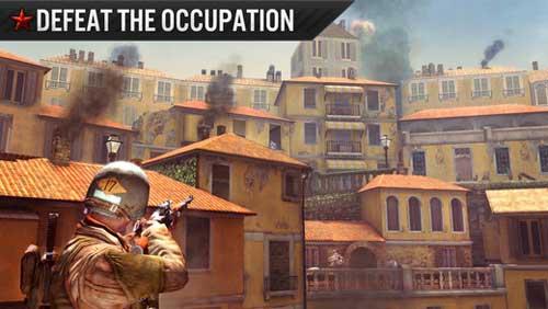 لعبة Frontline Commando الحربية للأيفون والايباد