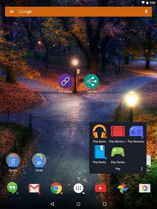 تطبيق Action Launcher 3 من أفضل تطبيقات اللانشر للاندرويد