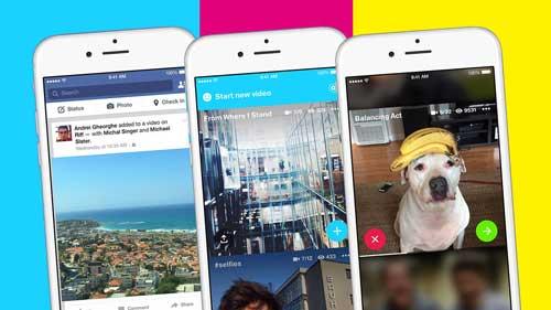 تطبيق Riff لإضافة محتوى الفيديو الخاص بالفيسبوك