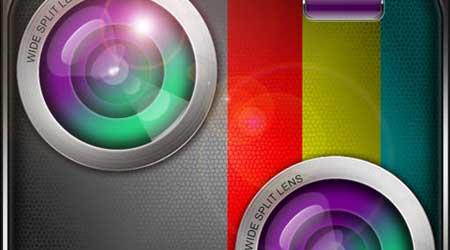 تطبيق Wide Split Lens لإضافة مؤثرات خداعية على الصور