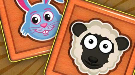 لعبة تعليمية مسلية للأطفال: تدريب الذاكرة للصغار - عالم الحيوان
