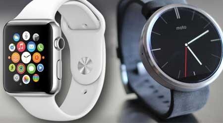 صورة رأي: أشتري ساعة آبل أم ساعة أندرويد وير؟ ما رأيكم ؟