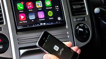 صورة اجهزة تضيف ميزة Carplay لسيارتك وتدعم الأيفون