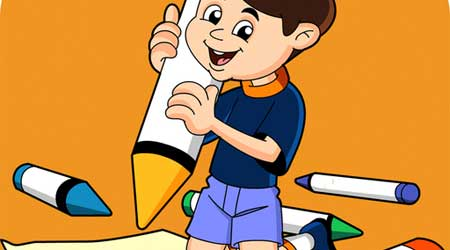 صورة لعبة التلوين للأطفال – لتعليم الأطفال الرسم والتلوين، مميز ومفيد جدا لاطفالكم ومجانا