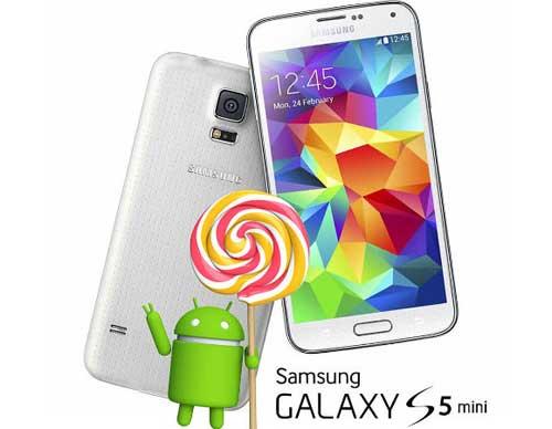 جهاز Galaxy S5 Mini وGalaxy Note Pro 12.2 LTE يحصلان على المصاصة