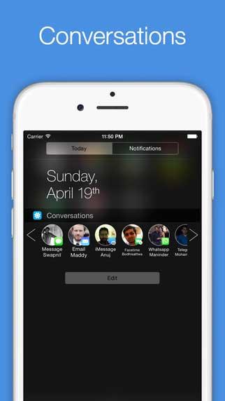 تطبيق Orby Widgets لإضافة اختصارات لجهات الاتصال