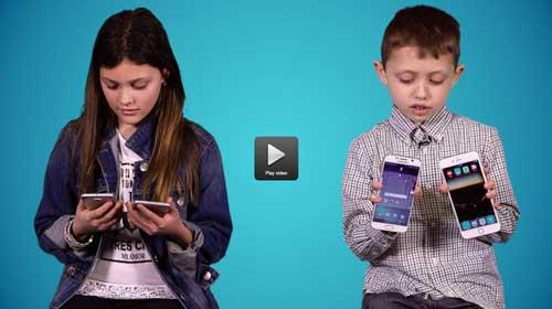 فيديو: اي الاجهزة يفضل الاطفال ؟ ربما لهم راي آخر !