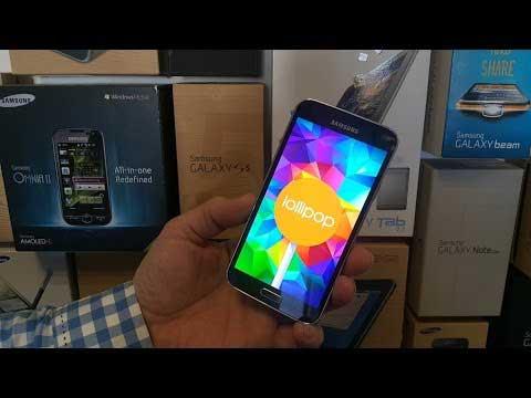 جهاز Galaxy A7 يبدأ بالحصول على الأندرويد 5.0.2