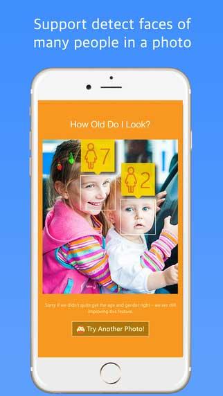 تطبيق رائع لمعرفة عمرك من خلال وجهك - للترفيه والتسلية