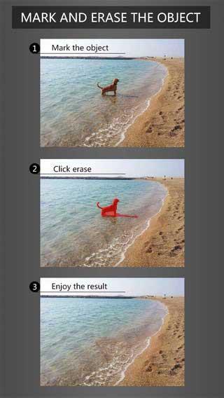 تطبيق PhotoEraser لحذف أي عنصر من الصور بسهولة