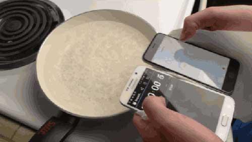 فيديو: حرب بين الأيفون 6 وجالاكسي S6 - أيهما سيصمد في الماء المغلي؟