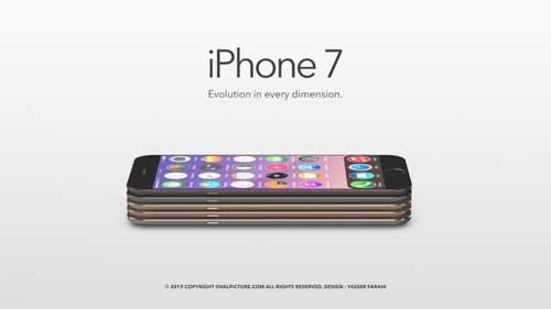 صور تخيلية: كيف تتوقع أن يكون شكل وتصميم الأيفون 7؟