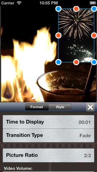تطبيق Video in Video لدمج مقاطع الفيديو والصور