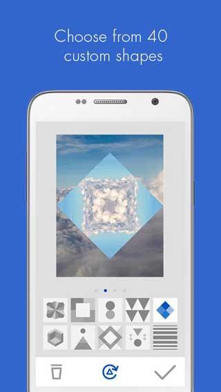 تطبيق D3LTA لتحرير الصور والتعديل عليها للاندرويد