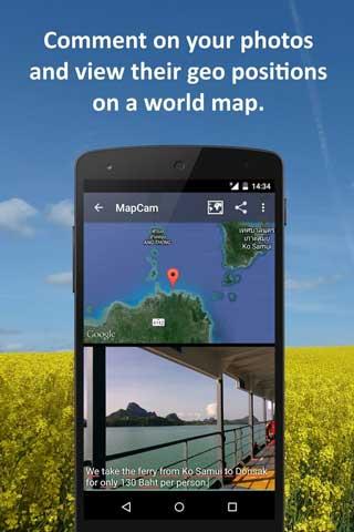 تطبيق MapCam يساعدك على معرفة مكان التقاط الصور
