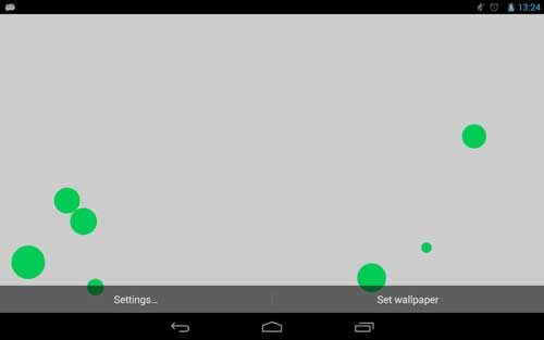تطبيق Particles Live Wallpaper للحصول على خلفيات ديناميكية
