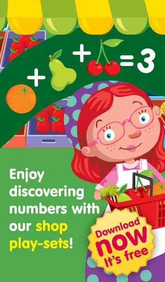 لعبة Shop & Math التعليمية المفيد للأطفال مميز ورائع