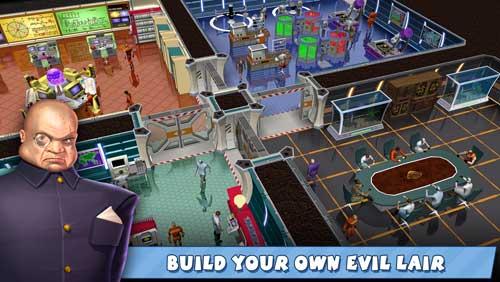 لعبة Evil Genius Online ممالك الشر والأشرار أون لاين