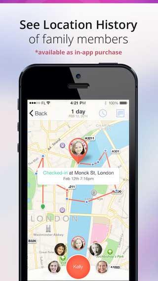 تطبيق Family Locator لمعرفة مكان أفراد العائلة والدردشة