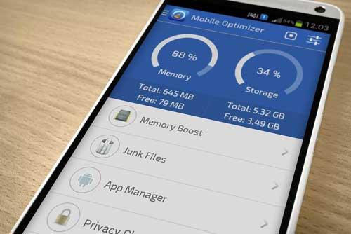 تطبيق Mobile Optimizer & Cleaner لتنظيف وتسريع جهازك