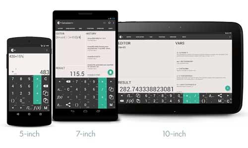 تطبيق Calculator ++ آلة حاسبة ذكية بمزايا احترافية