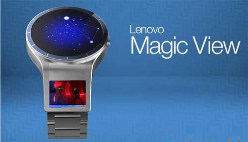لينوفو تعمل على تطوير ساعة ذكية بشاشتين ومزايا رائعة