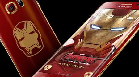 سامسونج تعلن عن نسخة Iron Man المحدودة من جالاكسي S6 إدج