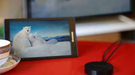 Photo of لينوفو تعلن عن جهاز البث اللاسلكي Lenovo Cast للاندرويد