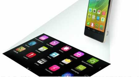 لينوفو تعلن عن تقنية Smart Cast لجعل الهاتف بروجيكتور