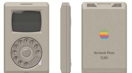 Photo of صور: هذا هو شكل الأيفون لو قامت آبل بالإعلان عنه عام 1986 م !