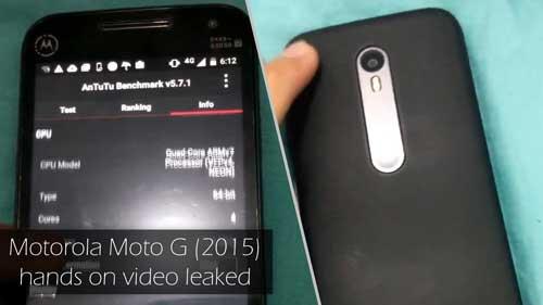 تسريب ضحم: صور وفيديو ومواصفات الجيل الثالث من Moto G