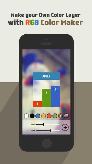 تطبيق BGMaker لإنشاء خلفيات جميلة لجهازك
