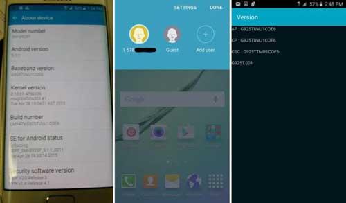 فيديو: استعراض الأندرويد 5.1.1 على جالاكسي S6 و S6 إدج