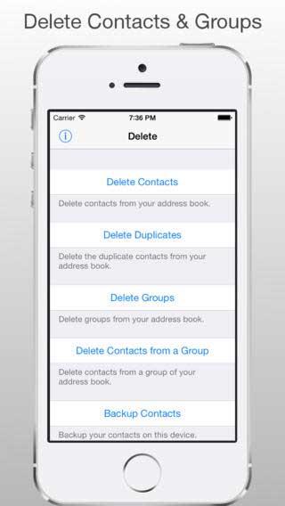 تطبيق Delete Duplicates لإدارة وحذف جهات الاتصال المكررة