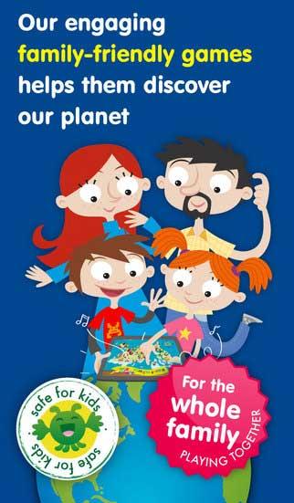 تطبيق Kids Planet Discovery لاكتشاف الكوكب للاطفال