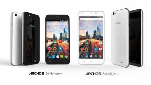 شركة Archos الفرنسية تطلق هاتفين من فئة المنخفضة المواصفات