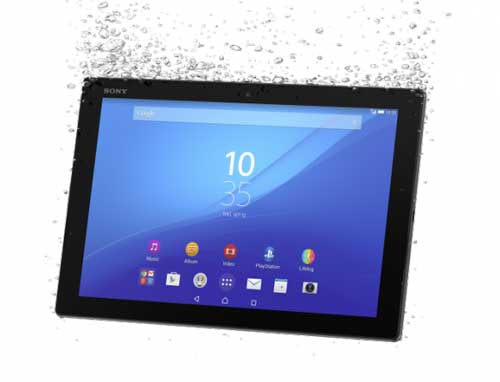 اللوحي Xperia Z4 Tablet