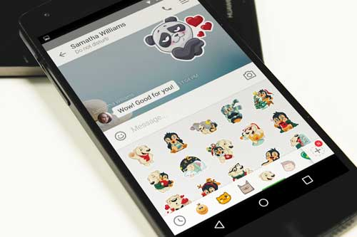 تطبيق ICQ للدردشة: مكالمات صوتية وفيديو وملصقات