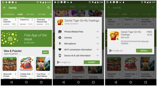 جوجل تطلق ركن تطبيق الأسبوع المجاني في جوجل بلاي