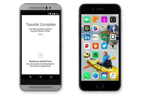 آبل تعلن عن تطبيق Move to iOS لأصحاب الاندرويد - ماذا يعني هذا؟